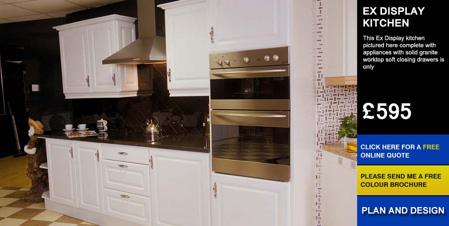 ex display affordable cheap kitchens